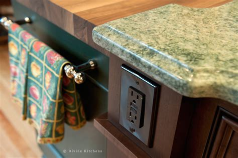 Kitchen Island Electrical Ideas A Guide To Outlets In Your Kitchen