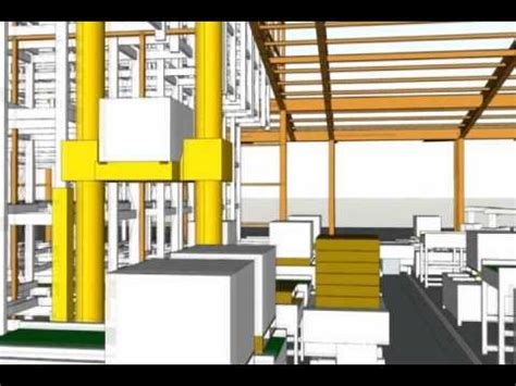 3d warehouse layout software food beverage factory automated warehouse 3d layout