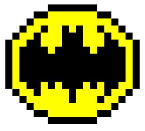 Minecraft Pixel Templates Batman by Minecraft Pixel Batman Symbol Template Minecraft Pixel