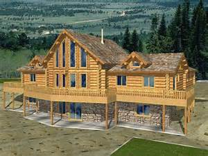 Log Home Basement Floor Plans by Modern Stone And Log Homes Log Homes With Stone Work Log