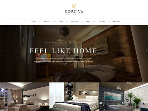 best house design websites 70 best hotel website templates free premium freshdesignweb