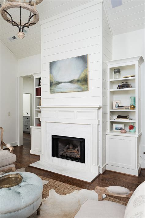 shiplap fireplace home decor interior design home bunch interior design