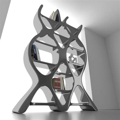 libreria dna libreria scaffalatura dna design in adamantx bianco rosso nero