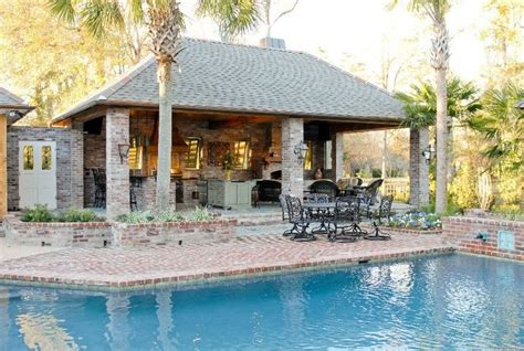 pool houses cabanas landscaping network pool houses baton rouge la photo gallery
