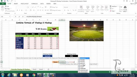 vlookup tutorial youtube in hindi combine vlookup and hlookup function in excel in hindi