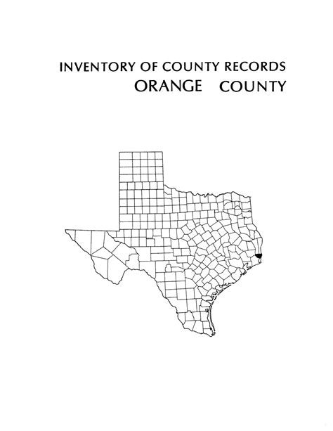 Orange County Court Records Inventory Of County Records Orange County Courthouse