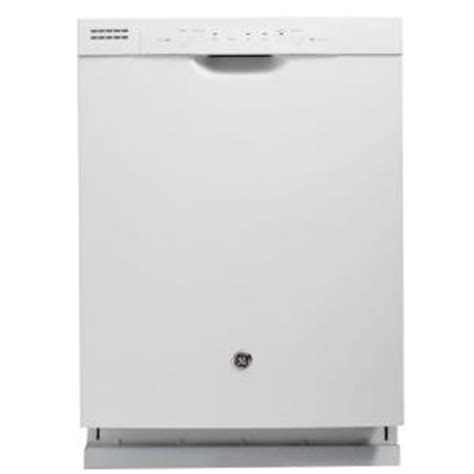 Home Depot Dishwashers by Ge Front Dishwasher In White Gdf510pgdww The