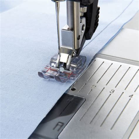 1 4 Inch Quilting Foot by Pfaff Clear 1 4 Inch Quilting Foot For Idt System