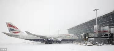 Airport Weather Snow Ruins Thousands Of Holidays As Heathrow