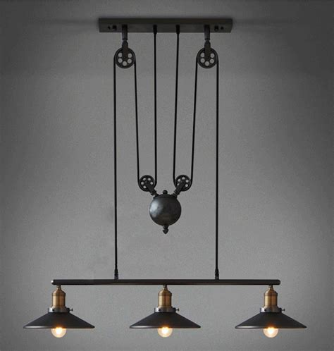 chandelier pulley get cheap pulley light fixtures aliexpress