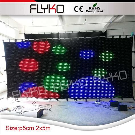 buy led curtain aliexpress com buy led video curtain display led light