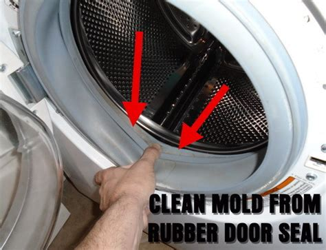 clean mold from front load washer washing machine cleaner for front load and top load washers removeandreplace