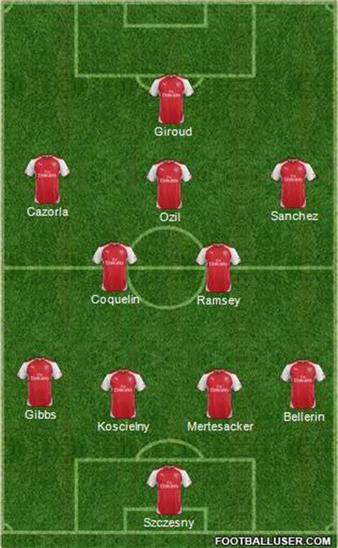 arsenal starting lineup preview man city vs arsenal team news starting xi