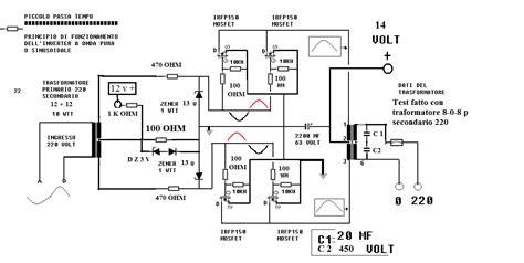 come fare test come realizzare un semplice inverter