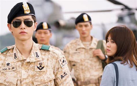 film korea descendants of the sun kementrian cina larang drama korea descendants of the sun