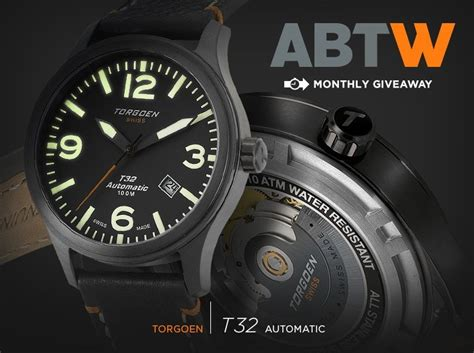 Watch Giveaways - watch giveaway torgoen t32 automatic ablogtowatch