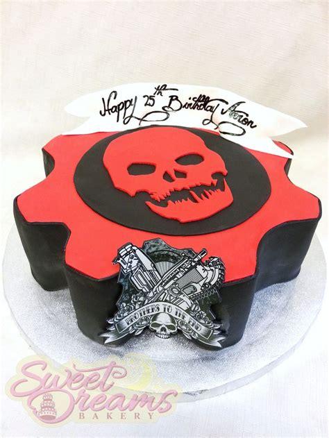 Gears Of War Birthday Cake From Sweet Dreams Bakery Tennessee   gears of war birthday cake from sweet dreams bakery