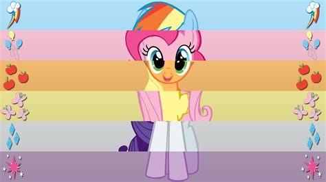 The My by My Pony Friendship Is Magic Mlp Hd Background For