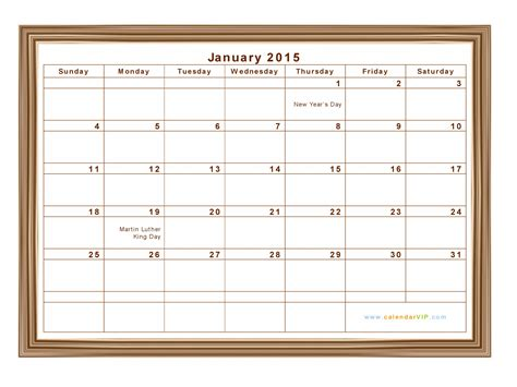 picture calendar template 2015 january 2015 calendar blank printable calendar template