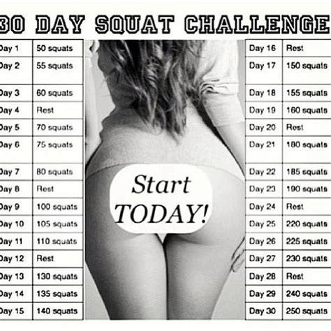 60 days squat challenge fashion lifestyle 30 days squat challenge