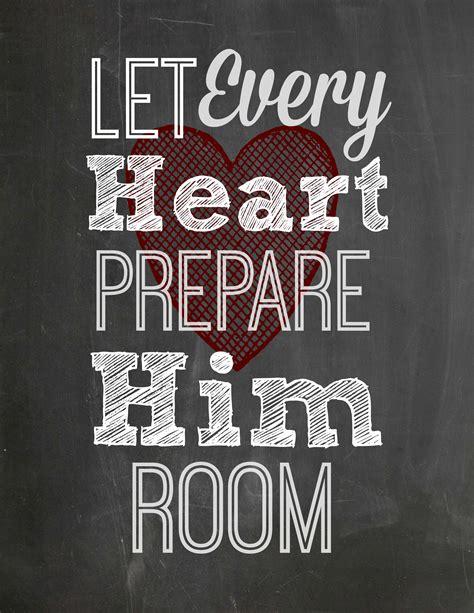 let every prepare him room free chalkboard printable let every prepare him room graceful honey bee