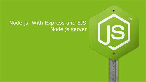 node js express template node js express web app with ejs template