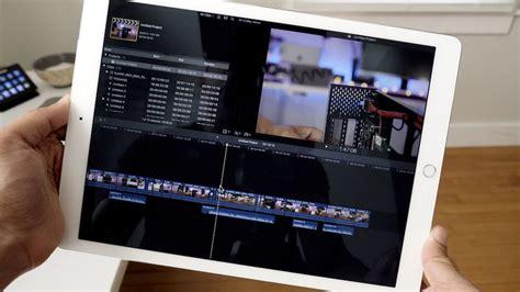 final cut pro on ipad wie bekommt apple das pro in das ipad pro macerkopf