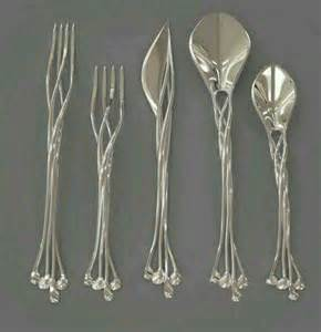 unique silverware elvish forks knife and spoons set https www facebook