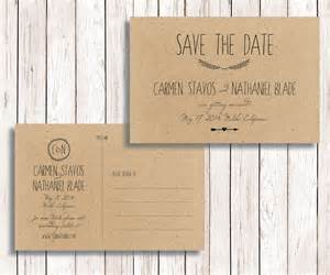 save the date post cards rustic printable save the date postcard diy by simplyfetchingpaper