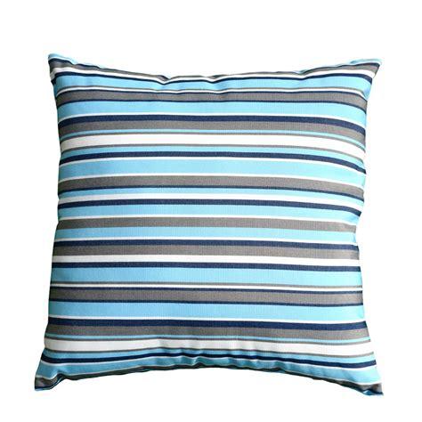 Scatter Cushion ? Blue Stripe   Regatta Garden Furniture Essex