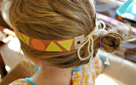 How To Make Paper Headbands - american pattern headbands what can we do with