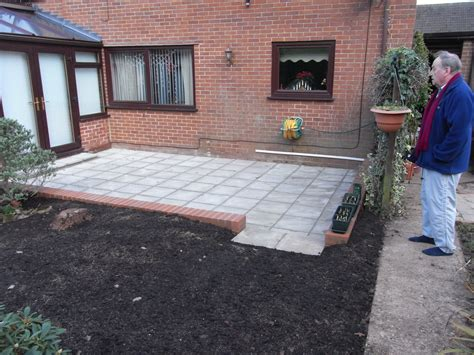 patio area patios abacus paving patios and driveways