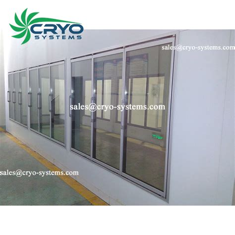 Cold Room Door Heater by Glass Door Cold Room Cryo Systems