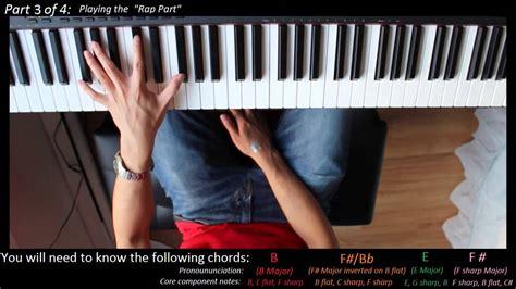 tutorial piano eminem piano tutorial eminem headlights youtube