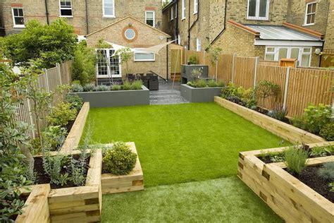 terraced garden design ideas and tips for a rectangular