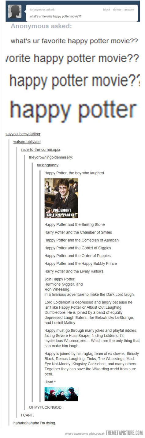 All Comments On Harry Potter - happy potter the meta picture