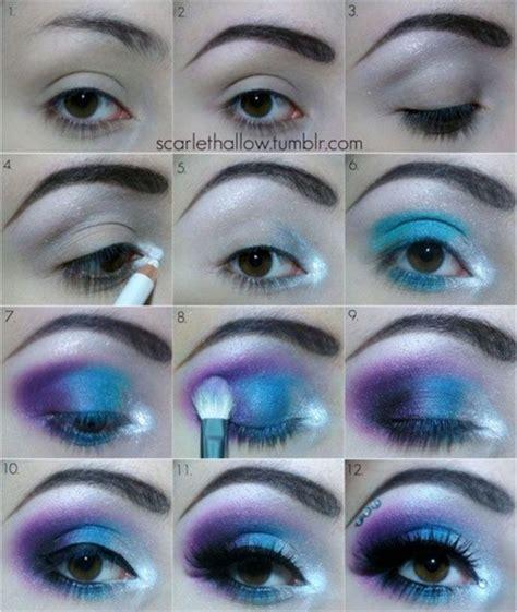 tutorial makeup shading blue shades eye shadow makeup tutorial makeup