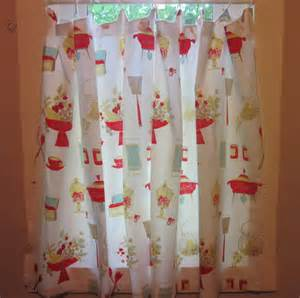 Etsy Kitchen Curtains Vintage Kitchen Curtains 1960s By Simplysuzula On Etsy