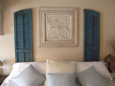 Shutter Wall Decor by 7 Inspiring Ways To Use Vintage Shutters On Your Walls