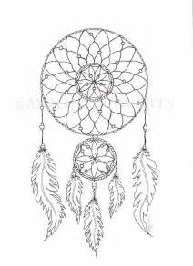 Dreamcatcher Template by Catcher Printable Coloring Page By