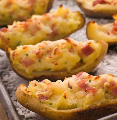 baked potato skins simple dish quick easy healthy recipes for dinner food pinterest