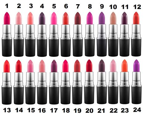 lipstick colors mac lipstick colours 26 shades to choose velvet
