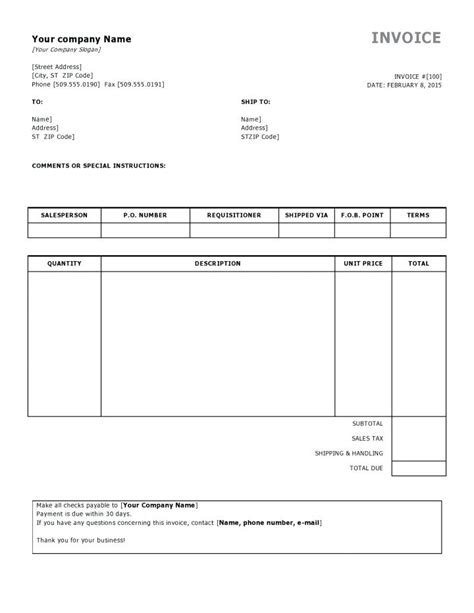 template invoice request invoice request form template request for invoice sle