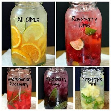 Detox Water Flavors by Refreshing Flavored Water Recipes Diy Cozy Home