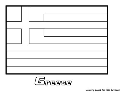 flag coloring pages with key coloring picture of greece flag greek flag culture