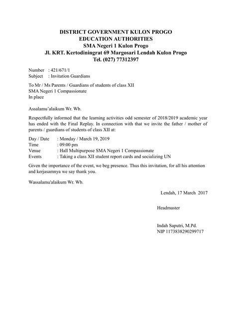 Contoh Notula Rapat Resmi by Contoh Laporan Singkat Cara Ku Mu