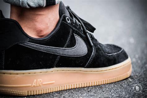 Terbaru Nike Airforce 1 Black 4 nike air 1 07 lv8 suede black gum sneakers
