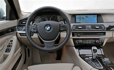 5 Series Bmw Interior by Car And Driver