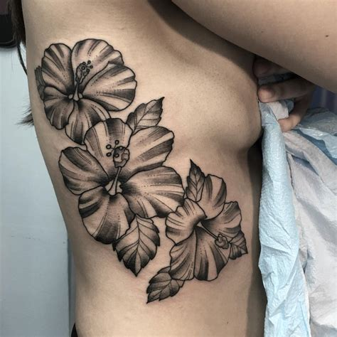 black floral tattoo designs 24 hibiscus flower tattoos designs trends ideas