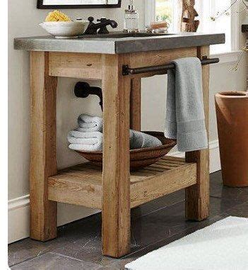 Wooden Vanity For by 25 Best Ideas About Wood Vanity On Reclaimed